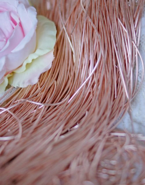 Rose Gold color Purl