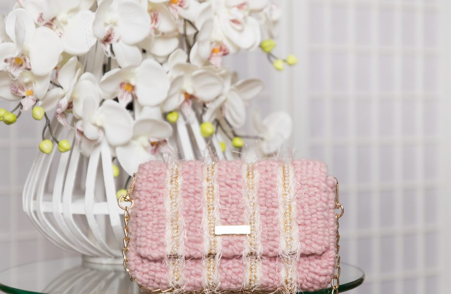 Master Class Embroidered Tweed bag