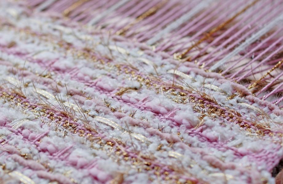 Creating fabric tweed is an adventure