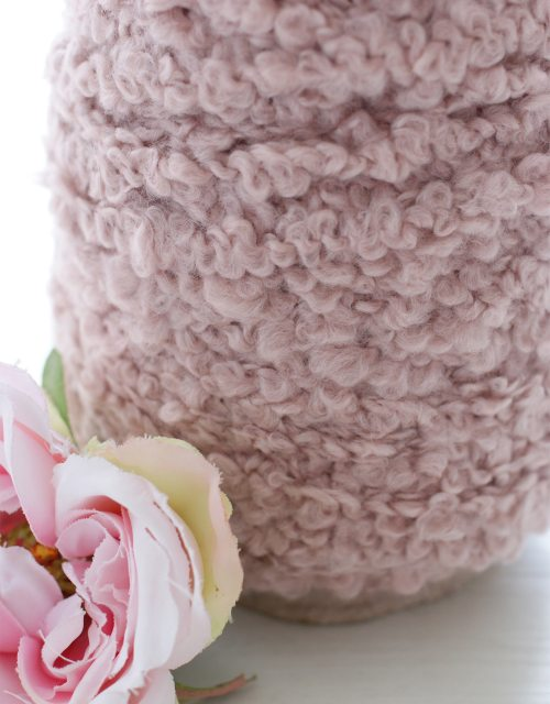 Champagne Pink color Buckle Yarns