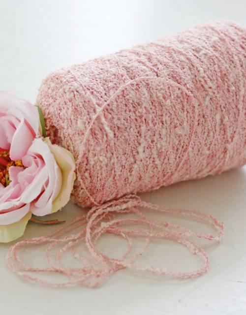 Gently Pink Twist Cotton Yarns