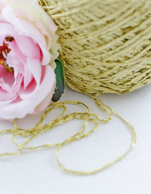 Green Grass color Chenille thread