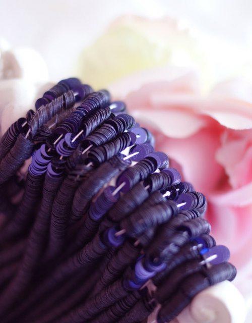 Metalizatti Dark Violet color Flat 4mm