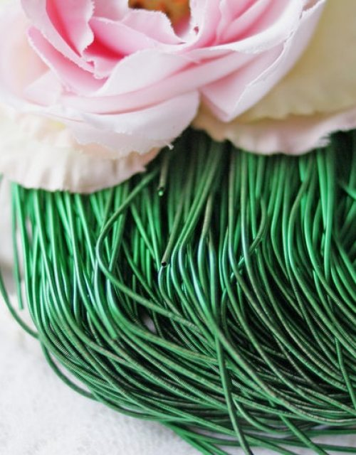 Emerald Green color Purl