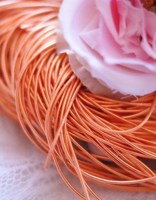 Orange color Purl