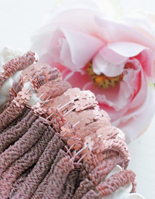 Flower Rosa Antico color 5mm