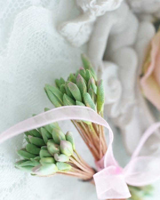 DIY Light Green color Flower stamen - Flower Peps