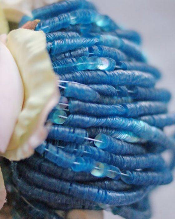 Irise Transparent Blue color Cup 4mm