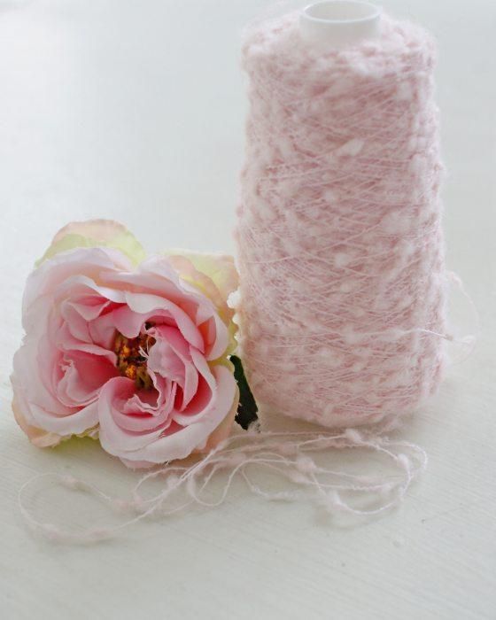 Very light Pink Mohair Yarns