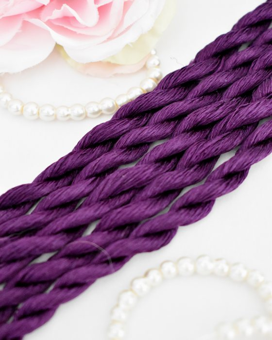 Passion color Non-Twisted Flat Silk Embroidery Thread