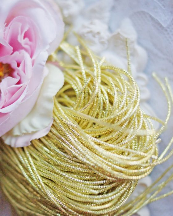 Lime Yellow color Wire Nakshi 10 gr