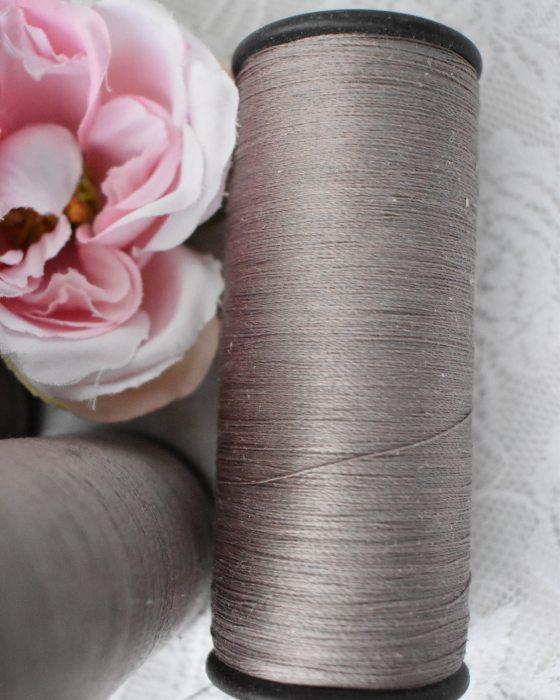 Vintage Pure Silk Thread Mouse grey Color