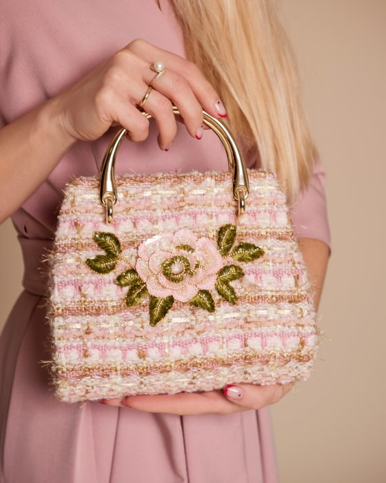Exclusive Embroidered weaving bag