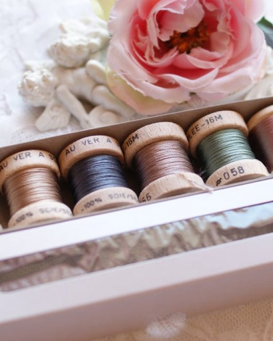 Vintage color Pack 6 shades Soie Perle