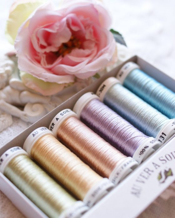 Pastel color Pack 6 shades Soie Ovale