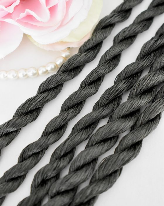 Sage color Non-Twisted Flat Silk Embroidery Thread