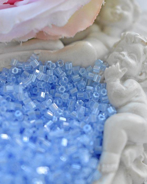 Toho Hexagon Ceylon Glacier beads 11/0