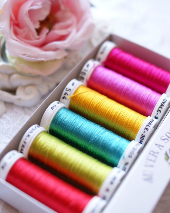 Flashy color Pack 6 shades Soie Ovale