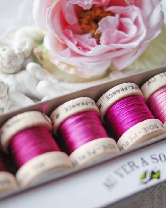 Pink color Pack 6 shades Soie Perle