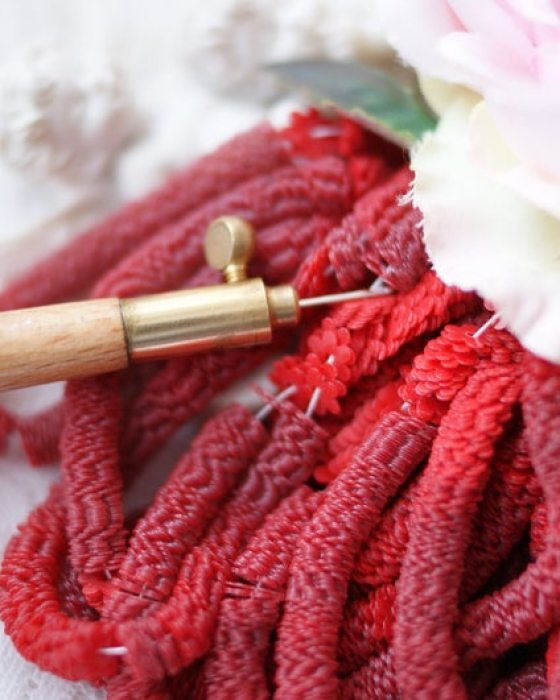 Flower Red color 5mm