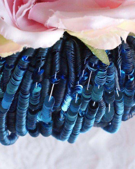 Metalizatti Electric Blue color Flat 4mm