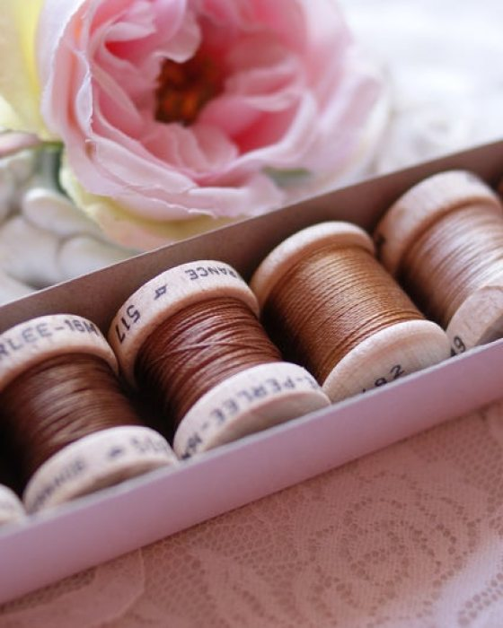 Brown color Pack 6 shades Soie Perle