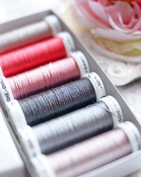 Vintage color Pack 6 shades Soie Ovale