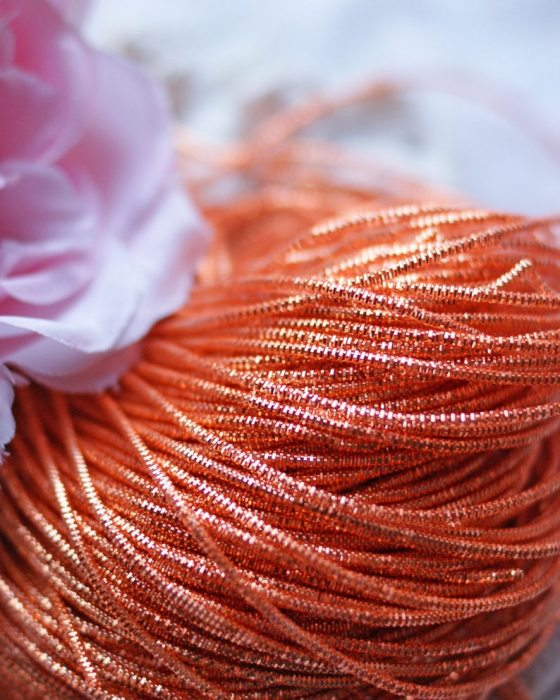 Orange color Wire Nakshi 10 gr