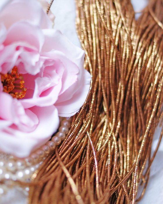 Golden Brown color Wire Nakshi 10 gr