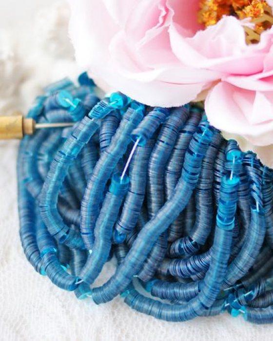 Etincelle Sapphire color Flat 4mm